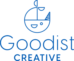 goodist creative blue logo
