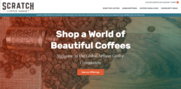 scratch coffee market screenshot